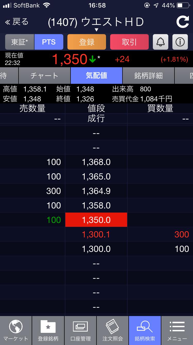 PTS1350円